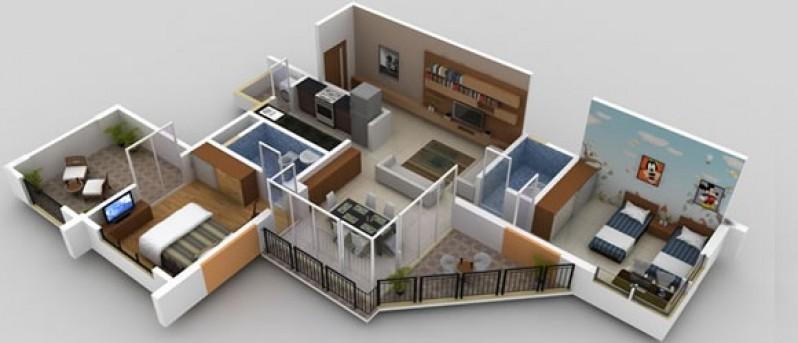 Mumbai Pune - Home Renovation - Deluxe way 2bhk 1bhk