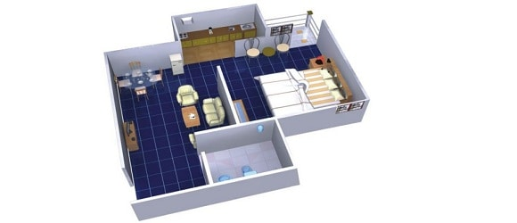 Home Renovation For 1 Bedroom Hall Kitchen Bhk In Economic