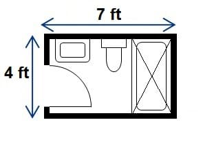Standard Bathroom Dimensions
