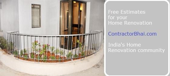 flowerbed Mumbai Home Renovation
