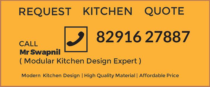 Modular Kitchen Contractorbhai Request Quote