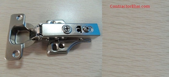 ContractorBhai Hydraulic hinge Modular Kitchen soft closing