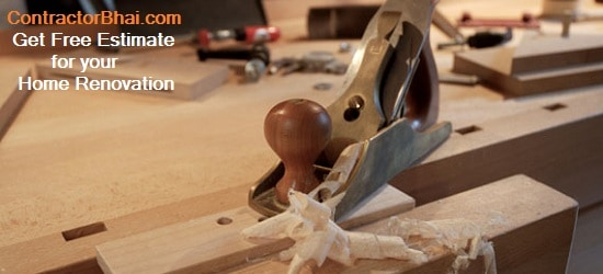 India Home Renovation - How Carpenters cheat with low quality material