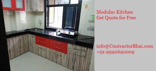 Modular Kitchen Design Contractorbhai Mumbai