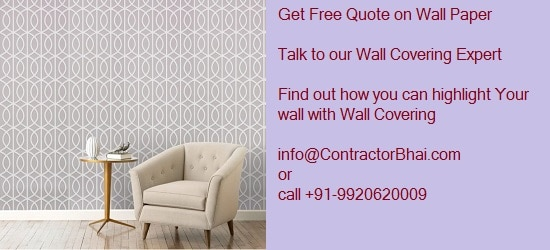 WallPaper wall covering Mumbai Pune Home ContractorBhai