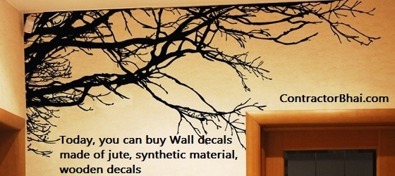 What are Wall Decals - Contractorbhai