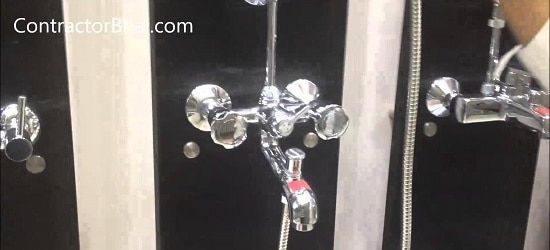 Wall Mixer 3 in 1 Bathroom Fitting