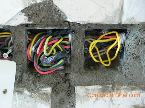 Electrical Wiring - ContractorBhai