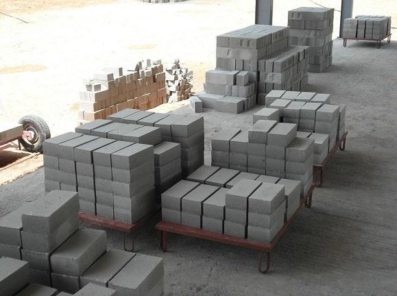 building material Bricks FlyAsh Concrete blocks cost rates