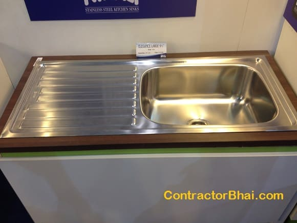 new kitchen sink cost sinks contractorbhai 3512