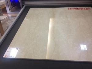 RAK Bravo Beige 1000x1000 Vitrified Floor Tile