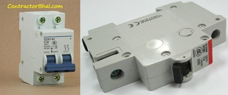Electrical MCB Circuit Breaker