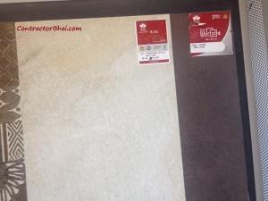 RAK NP Hardrock WH R 450x900 Vitrified Wall Tiles