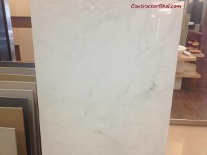RAK NanoPix 6012 Bianco White 598x1198 Vitrified Floor Tile
