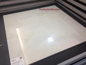 RAK Onix White 1000x1000 Vitrified Floor Tiles