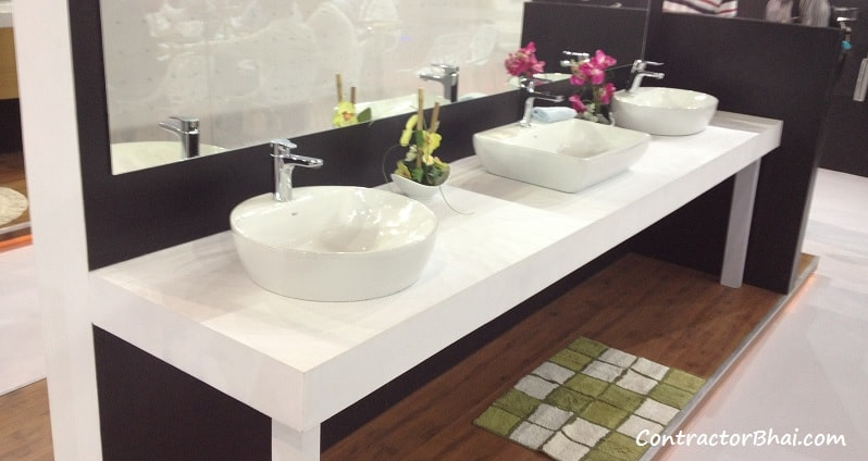 wash basin designs for indian homes contractorbhai