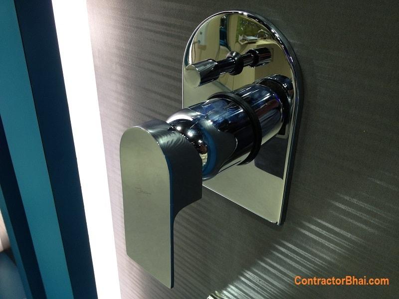 lyric 4 way mixer faucet contractorbhai LYR-38065K