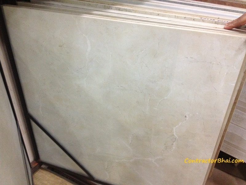 Espania Marfil Glazed Vitrified Tiles Contractorbhai