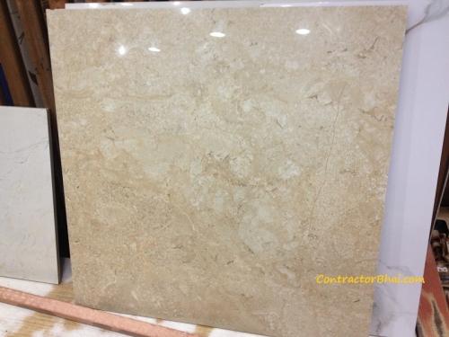 crema marfil 600x600 Glazed Vitrified Tiles ContractorBhai