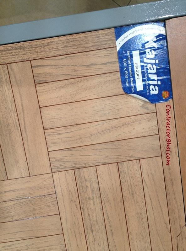 Parquet Ceramic Non digital Floor Tiles ContractorBhai