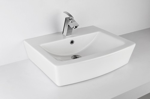 Queo Orca Over counter Basin with tap hole