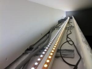 Stripe led cove light