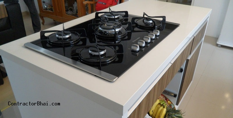 Built-in Hob vs Cooktop - Indian Kitchen