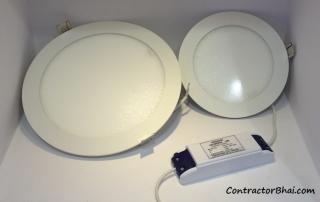 Incandescent light CFL lights LED lights