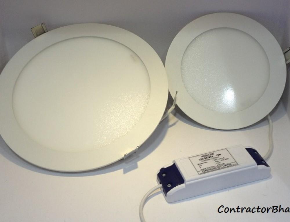 Incandescent light vs CFL lights vs LED lights