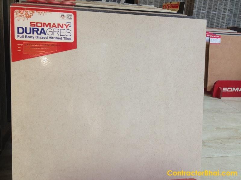 Levigato Plazo Bianco 600x600mm GVT ContractorBhai