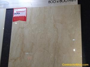 Marbo Daino Beige- 800x800 GVT Floor Tiles