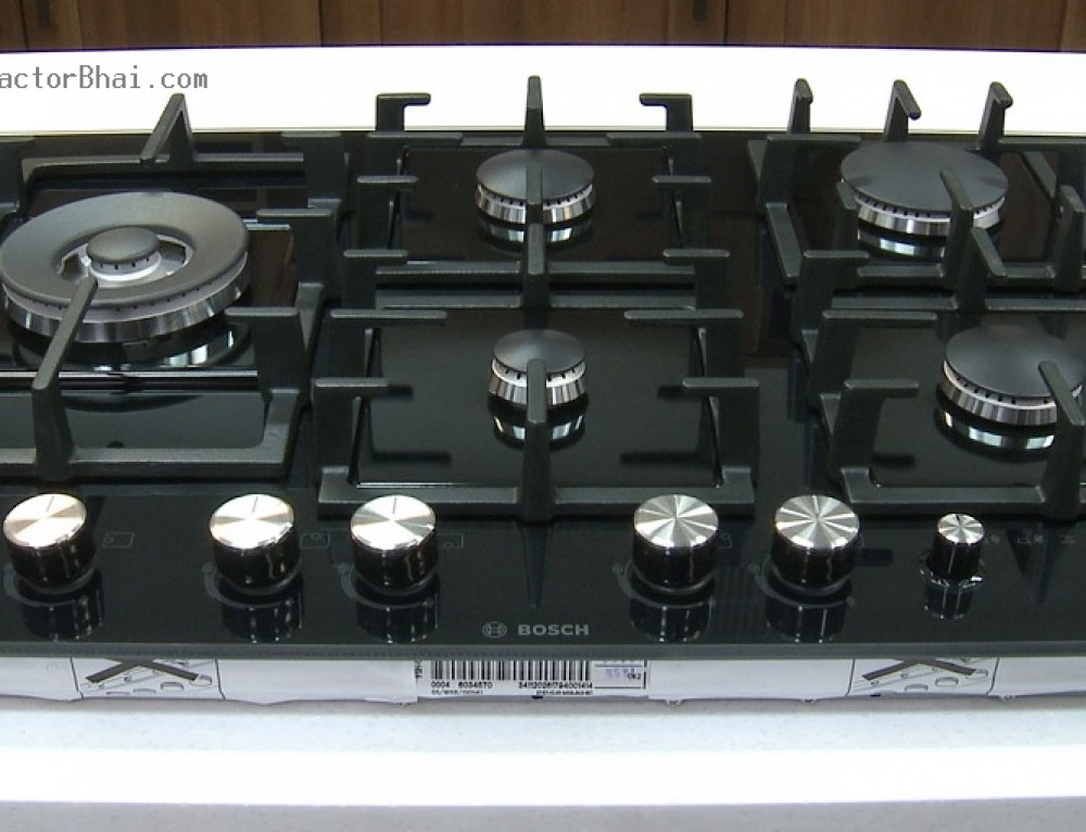 Hob Top Gas Stove With Chimney