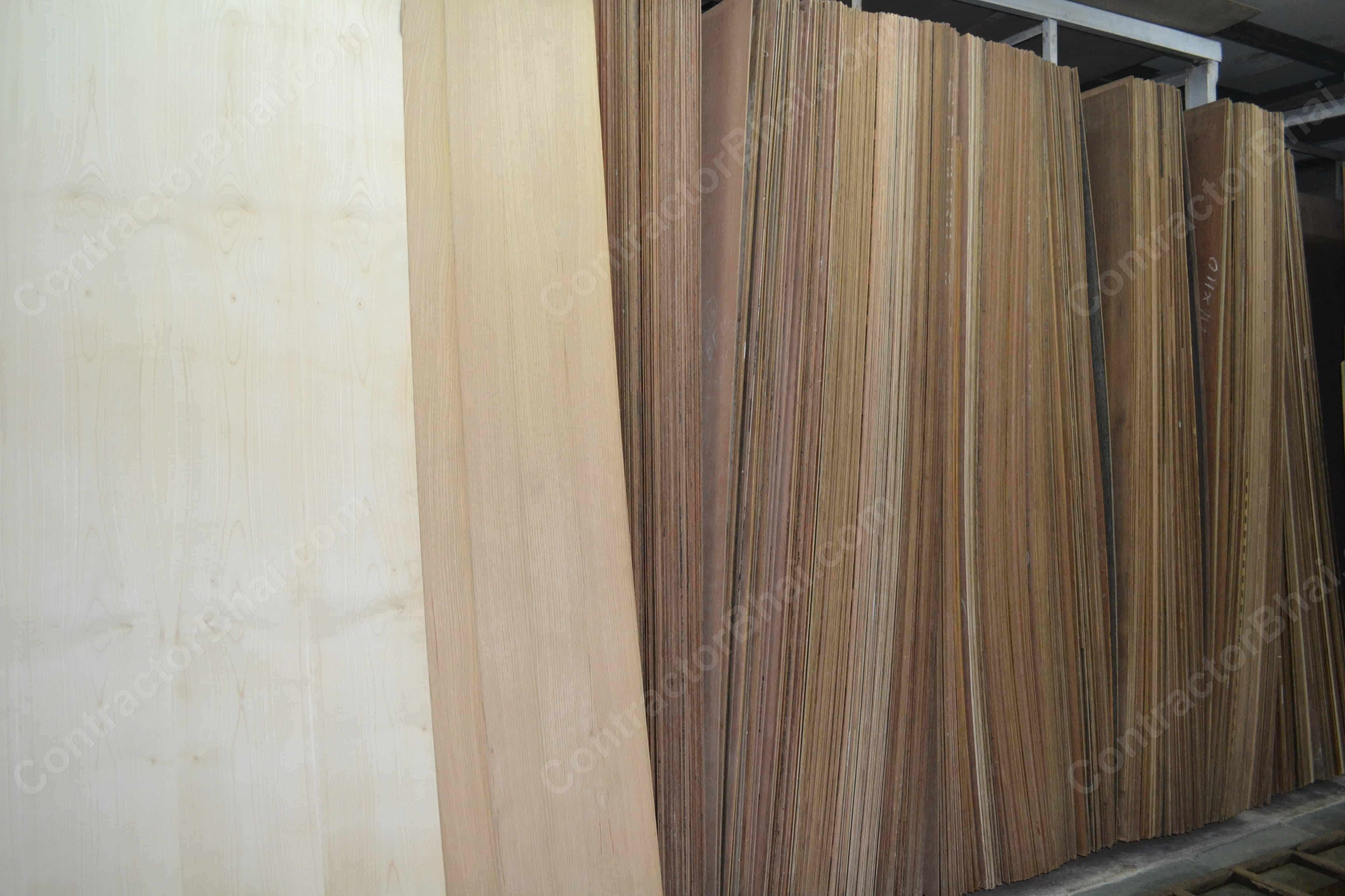 Unbacked Veneers sheets