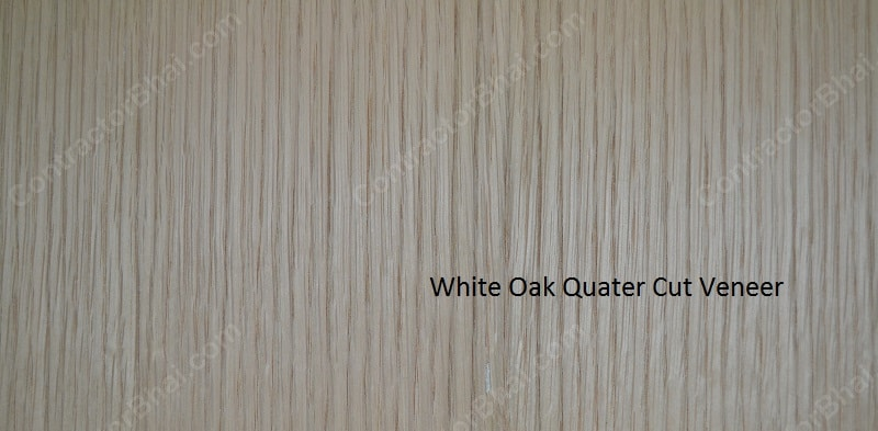White-OakQuater-cut-veneer-Mumbai
