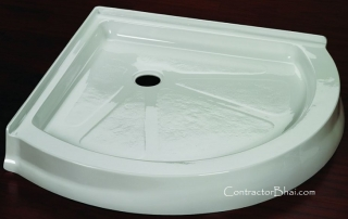Solid Surface Sinks & Corian Shower base