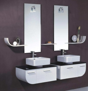 bathroom cabinet sink solid surface