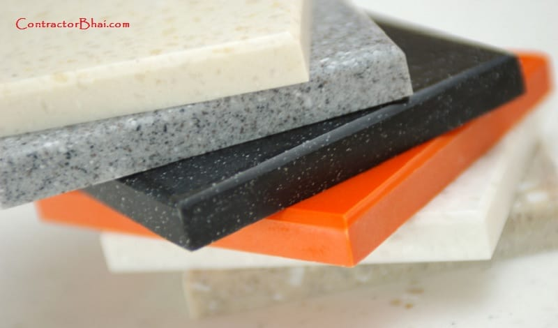 difference between corian solid surface