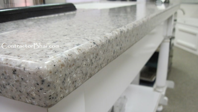 What Is Solid Surface Or Corian Made Up