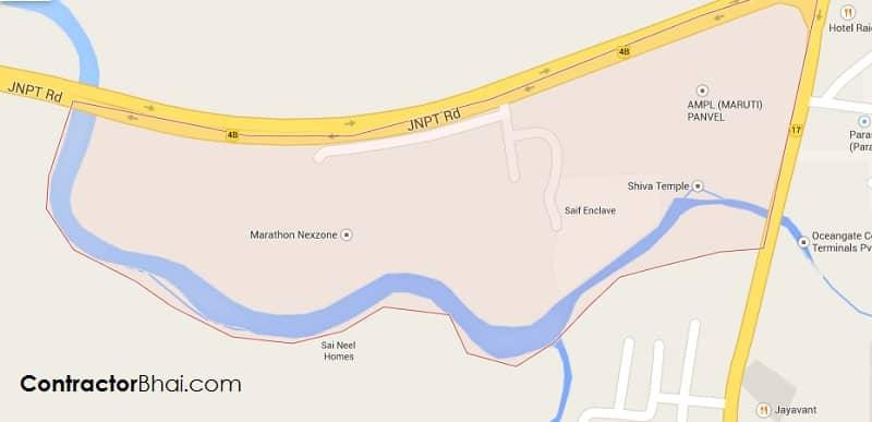 Marathon NexZone Panvel 2BHK Floor Plan