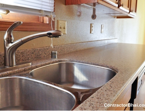 Corian countertops vs granite countertop for kitchen for Solid surface counters