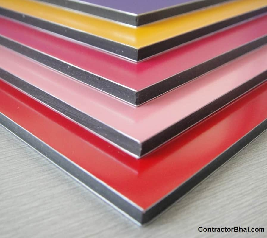 Surface Applied Aluminum Composite Panel : Indian brands of acp contractorbhai