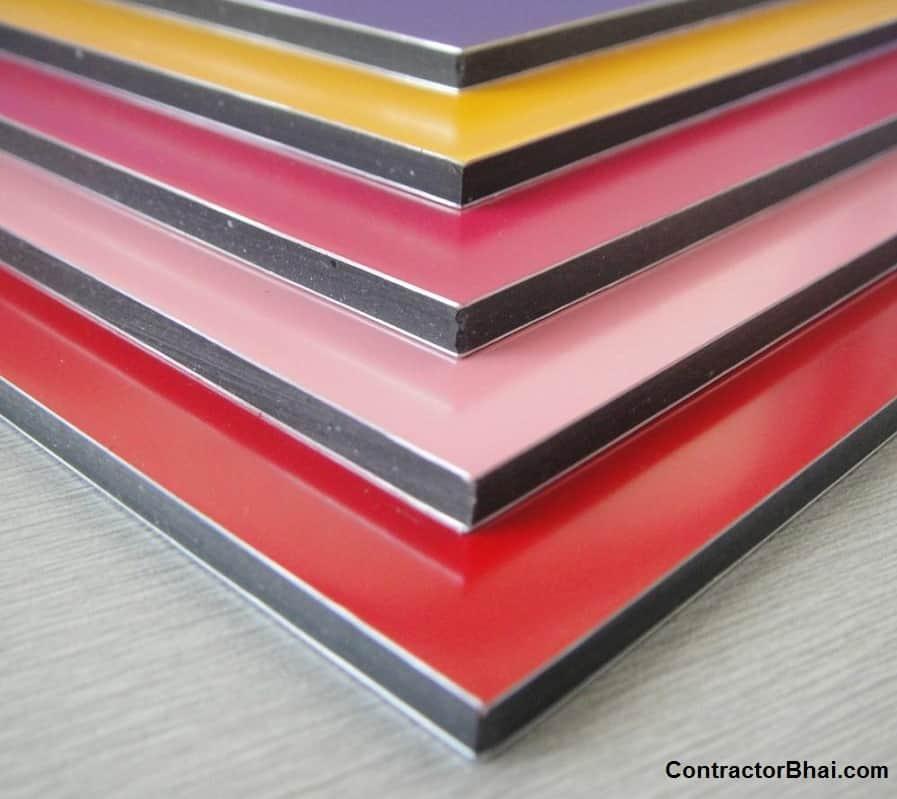 how to cut aluminium composite panel