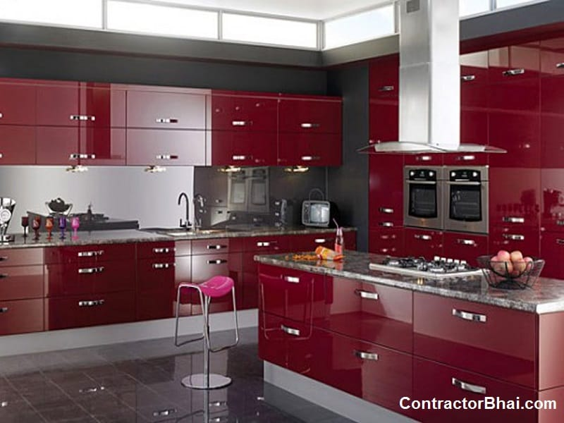 Application of ACP in Modern Kitchen Interiors