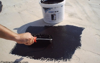 waterproofing polymer treatment