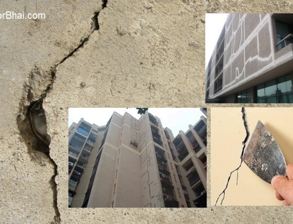Common Reason for External Wall Crack in Mumbai buildings
