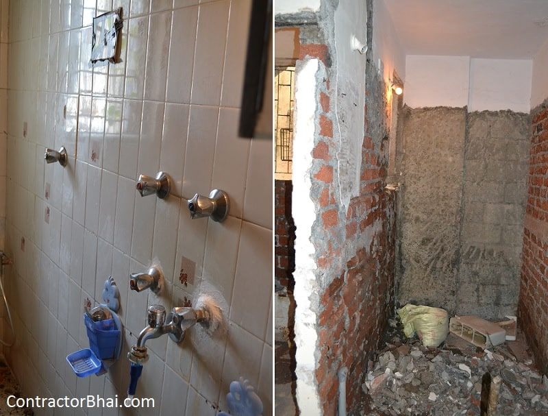bathroom repair cost contractorbhai
