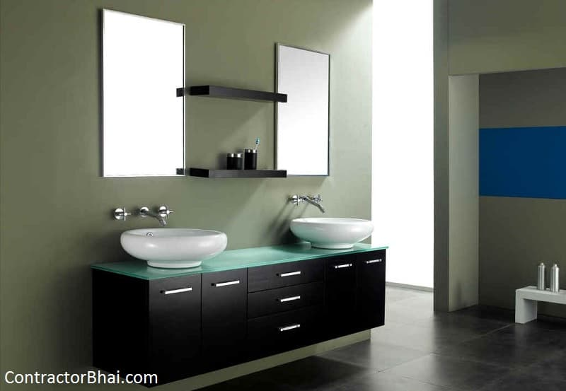 Furniture or Fixtures inside Bathrooms