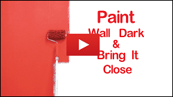 28 - Paint wall Dark & Bring it Close