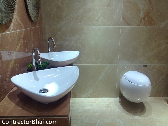Tips for buying bathroom tiles contractorbhai for Bathroom designs kajaria