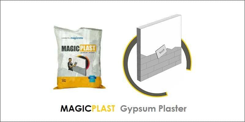 MagicPlast Gypsum Plaster